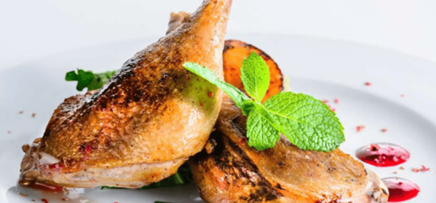 Roast Duck with Thai Red Curry Sauce