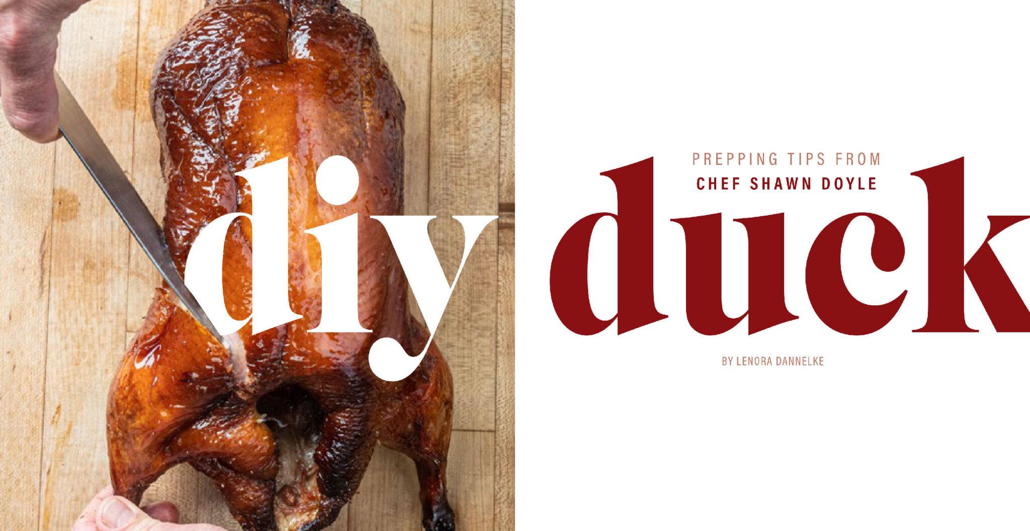 DIY Duck - From Lehigh Valley Good Taste